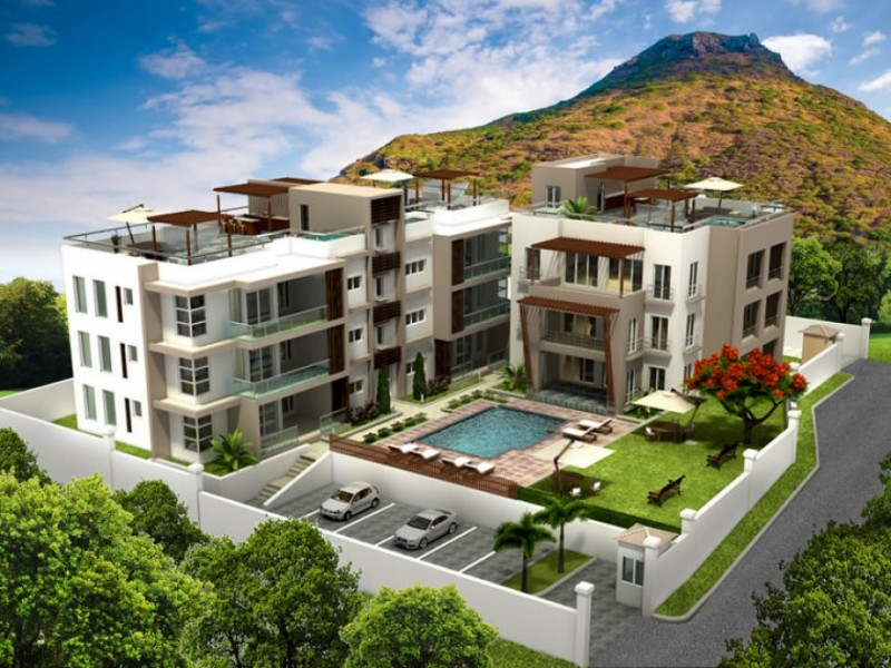 Real estate investment projects on the westcoast of Mauritius